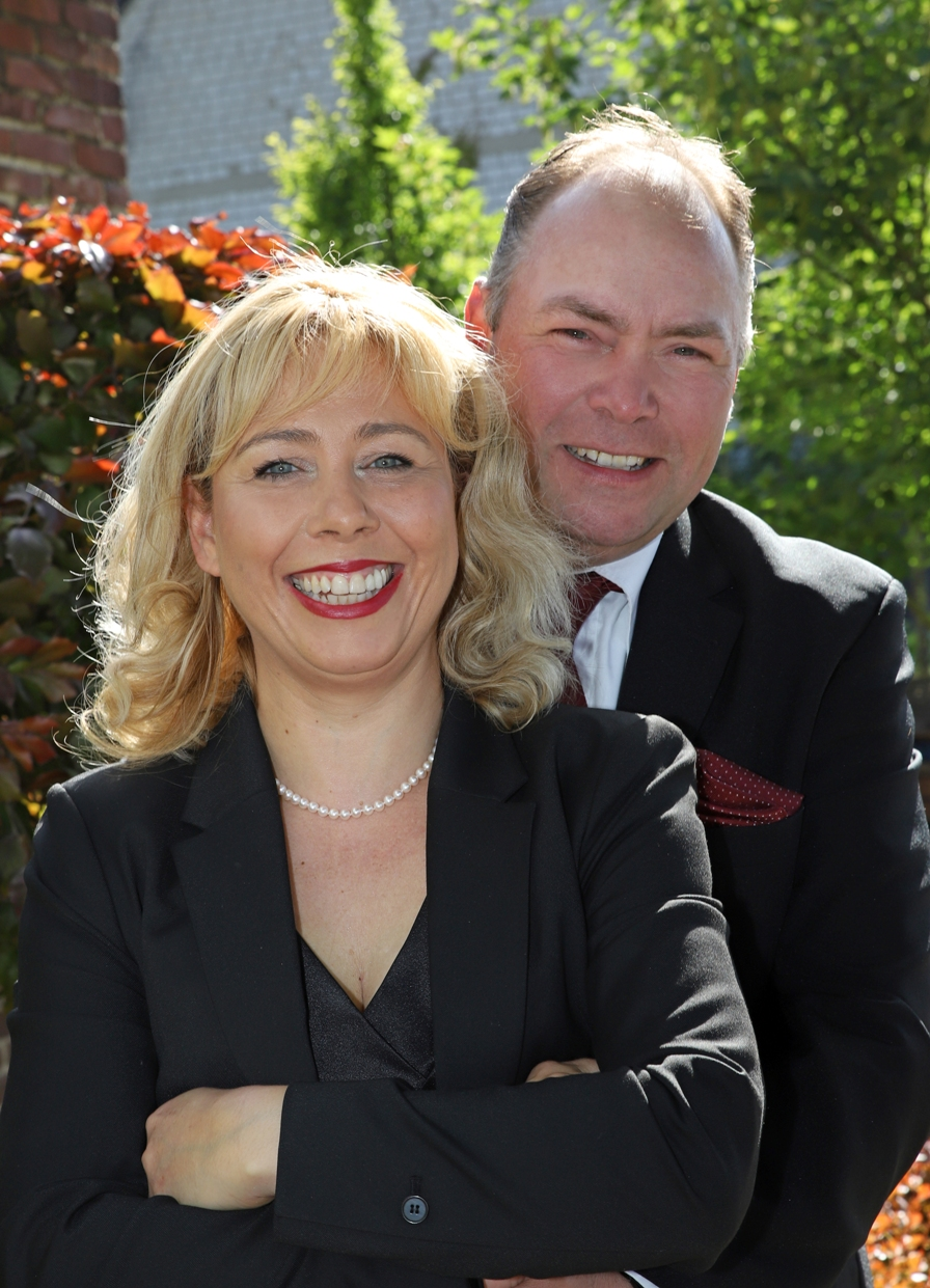 Ministerpaar Arndt und Angela Oerdinger