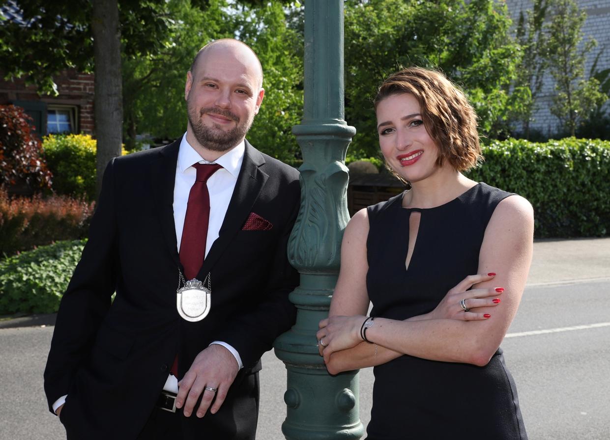 Ministerpaar Sascha und Nancy Lambertz